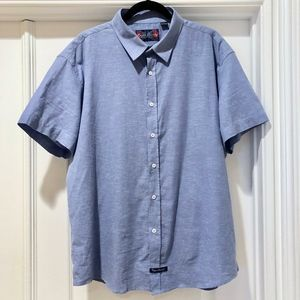 English Laundry Short Sleeve Button Down Shirt XL